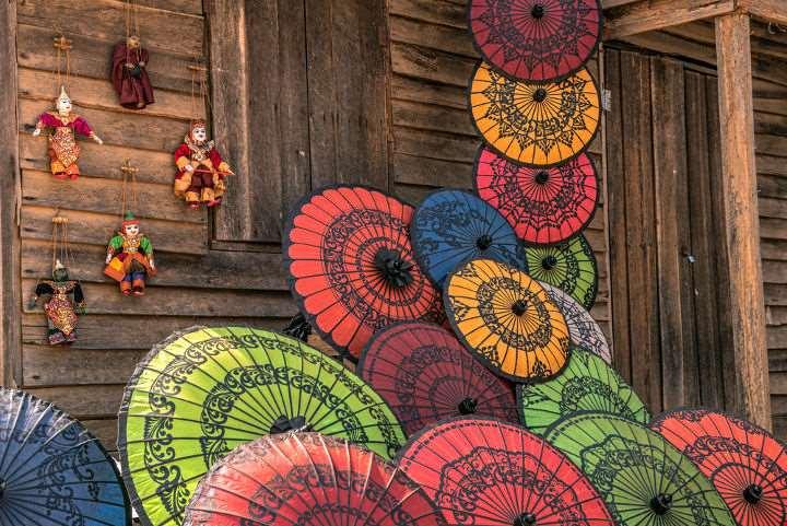 Chinese Umbrellas-Chinese Umbrellas