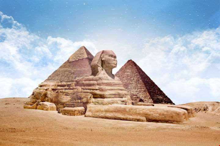 Pyramids Sphinx-Pyramids Sphinx