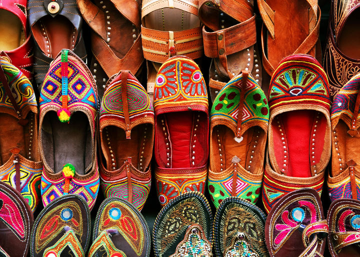 Traditional Indian Slippers-Traditional Indian Slippers