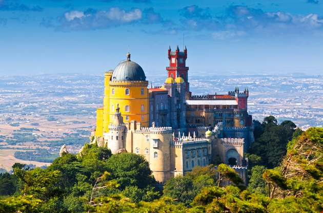 pena-national-palace-in-sintra-portugal-Pena National Palace In Sintra Portugal