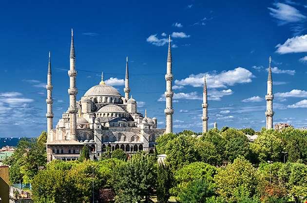 blue-mosque-istanbul-turkey-Blue Mosque Istanbul Turkey