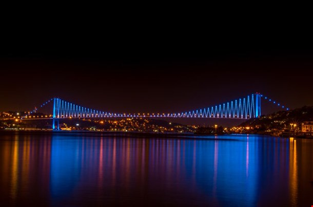 Bosphorus Bridge Night