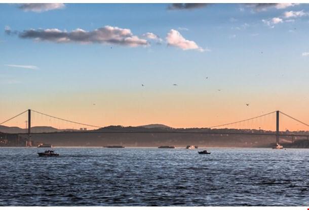 Bosphorus Bridge Panoramic