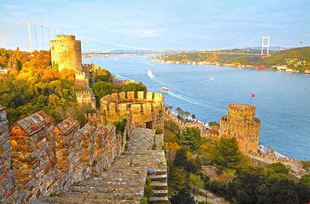 fortress-rum-elihisar-istanbul-turkey-Fortress Rum Elihisar Istanbul Turkey