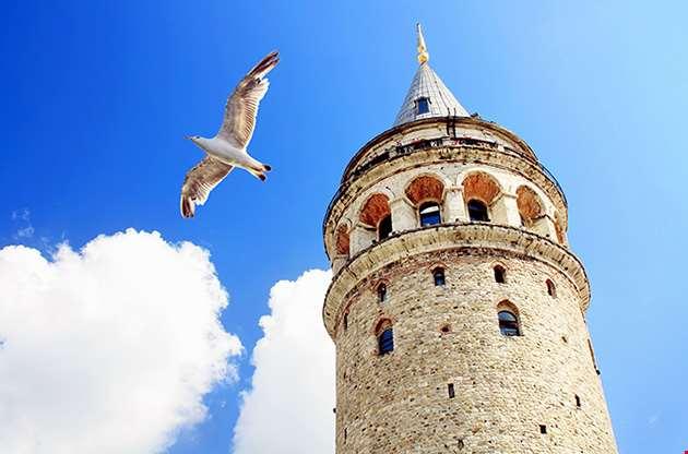 galata-tower-istanbul-turkey-Galata Tower Istanbul Turkey