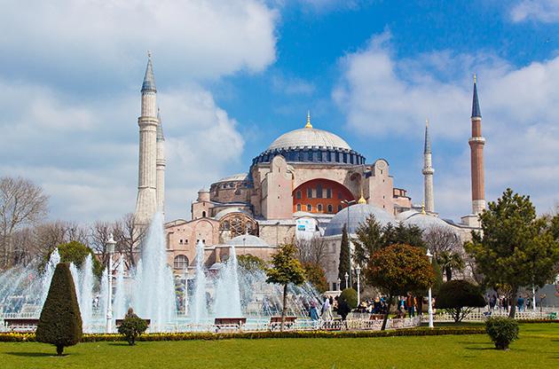 hagia-sophia-istanbul-turkey-Hagia Sophia Istanbul Turkey