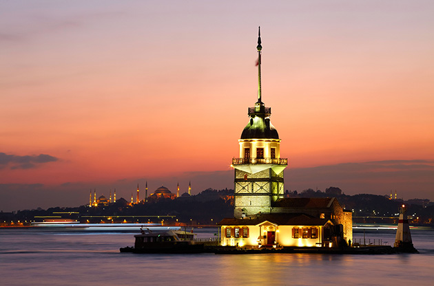 maidens-tower-istanbul-turkey-Maidens Tower Istanbul Turkey