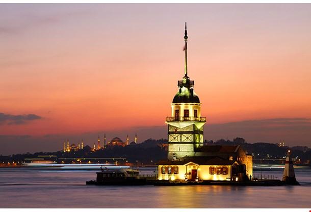 Maidens Tower Istanbul Turkey