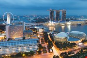 singapore-by-evening-Singapore By Evening