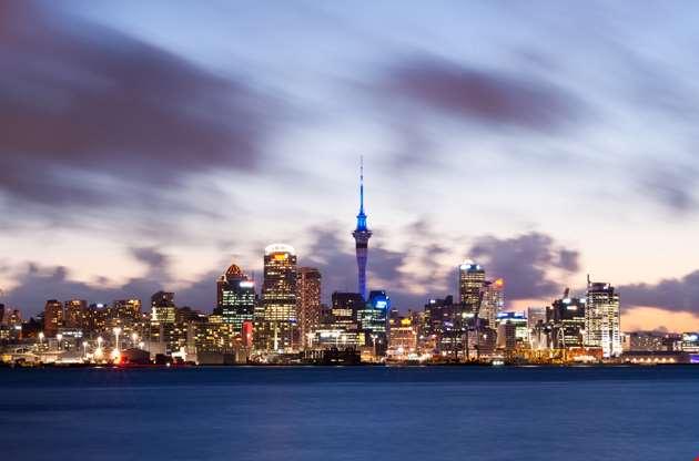 auckland-skyline-new-zealand-Auckland Skyline New Zealand