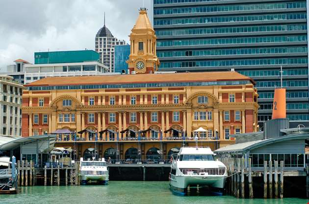 new-zealand-auckland-city-harbour-New Zealand Auckland City Harbour