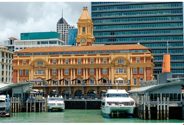 New Zealand Auckland City Harbour
