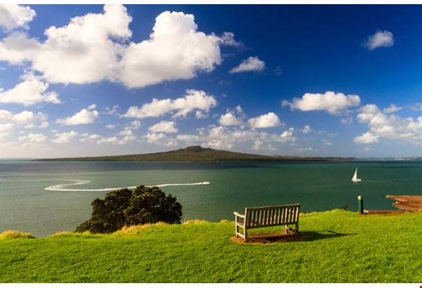 Rangitoto Island From Devonport Auckland