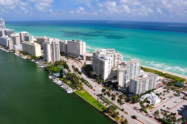 aerial-view-of-miami-south-beach-Aerial View Of Miami South Beach