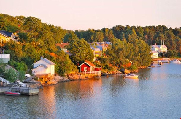 Beautiful Sunset in Turku