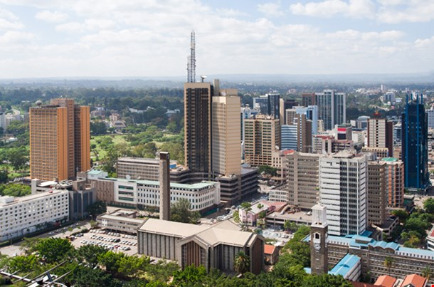 Nairobi The Capital City Of Kenya
