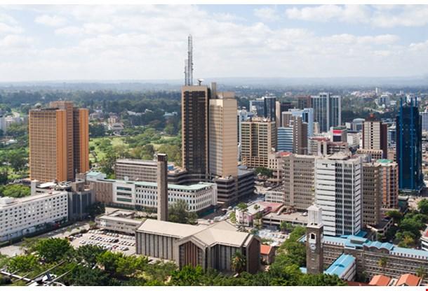 Nairobi The Capital City Of Kenya