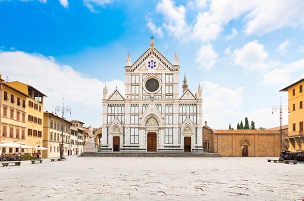 Panoramic View of Piazza Santa Croce