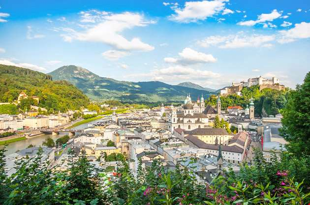 beautiful-view-of-the-salzburg-Beautiful View of the Salzburg