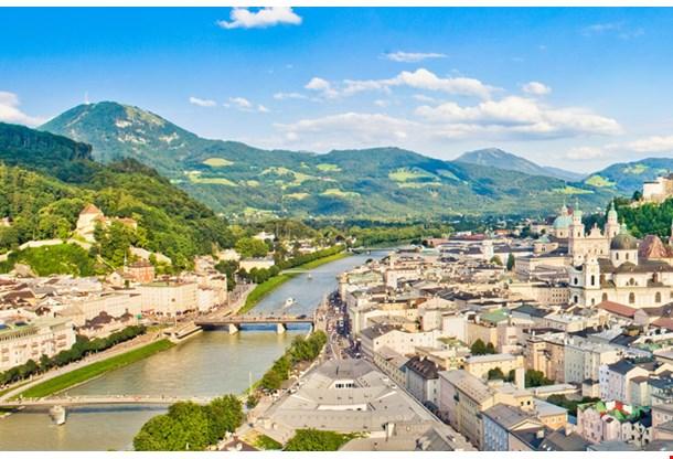 Panoramic View Salzburg