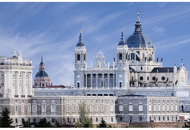 Almudena Cathedral Madrid Spain