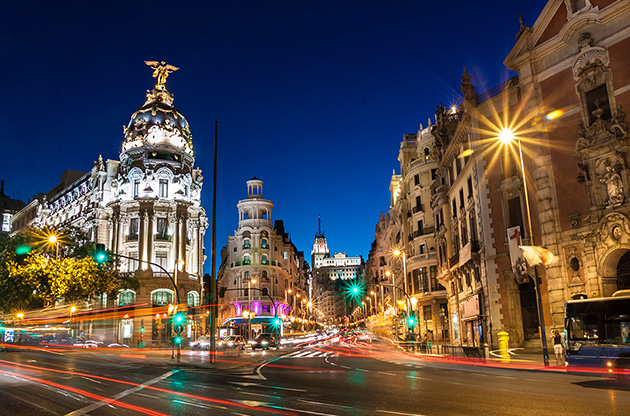 madrid-at-night-Madrid At Night