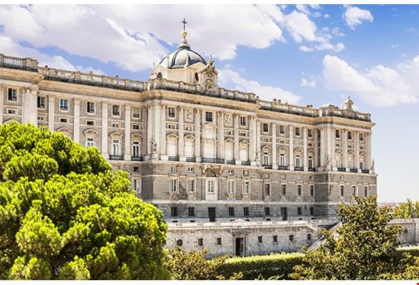 Madrid Royal Palace (Palacio De Oriente), Spain