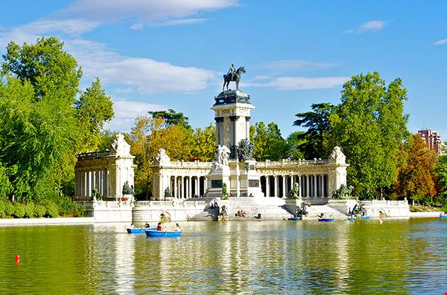 monument-to-alonso-xii-buen-retiro-park-madrid-Monument To Alonso XII Buen Retiro Park Madrid