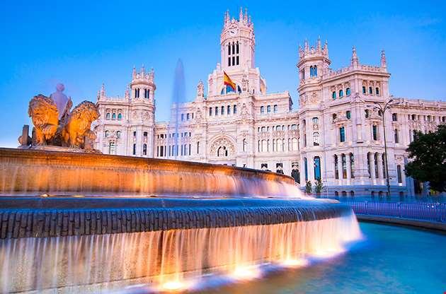 plaza-de-la-cibeles-madrid-Plaza De La Cibeles Madrid