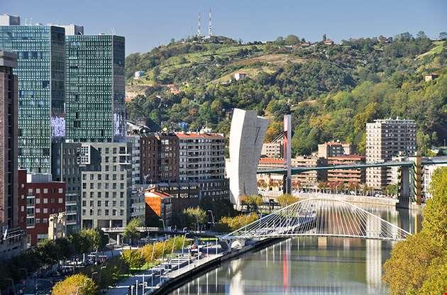 bilbao-from-etxebarria-park-Bilbao From Etxebarria Park