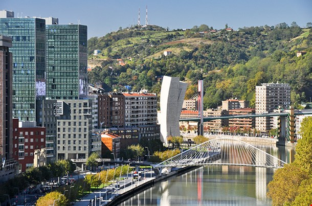 Bilbao From Etxebarria Park