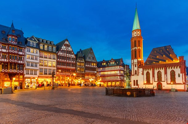 Historic Center Frankfurt