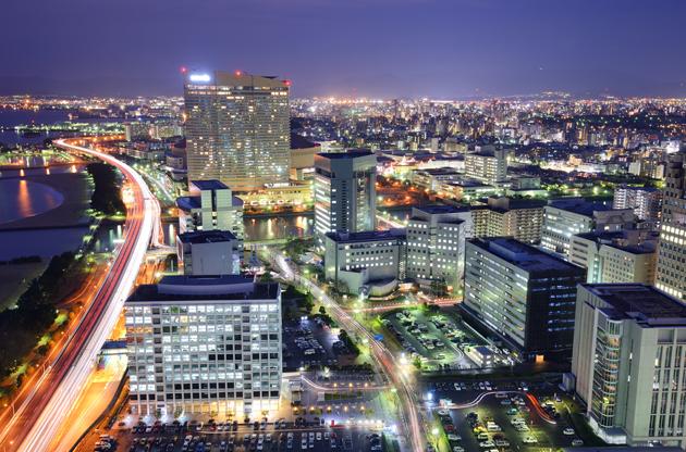 cityscape-of-fukuoka-Cityscape Of Fukuoka