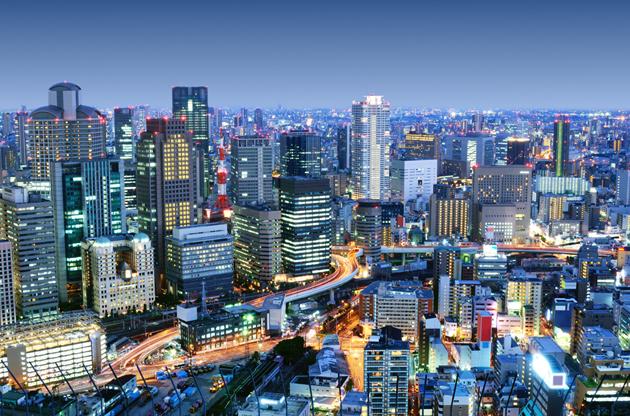 dense-skyline-of-umeda-district-Dense Skyline Of Umeda District