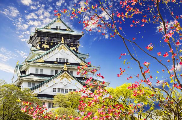 osaka-castle-Osaka Castle