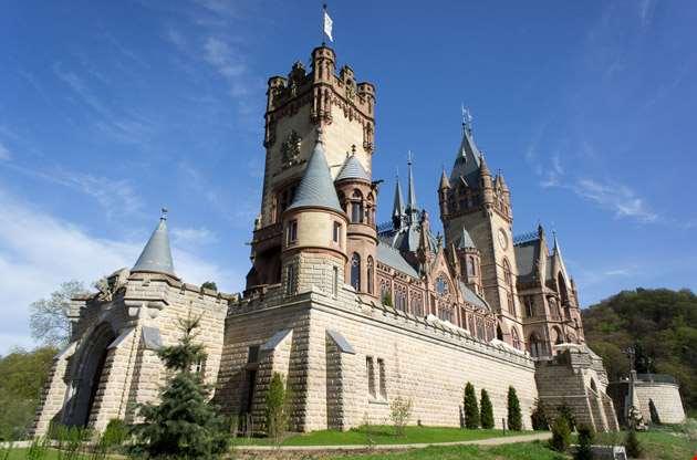 castle-schloss-drachenburg-bonn-Castle Schloss Drachenburg Bonn