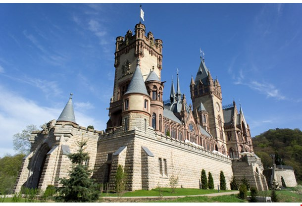 Castle Schloss Drachenburg Bonn