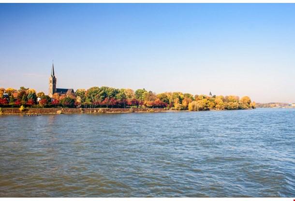 River Rhine Bonn