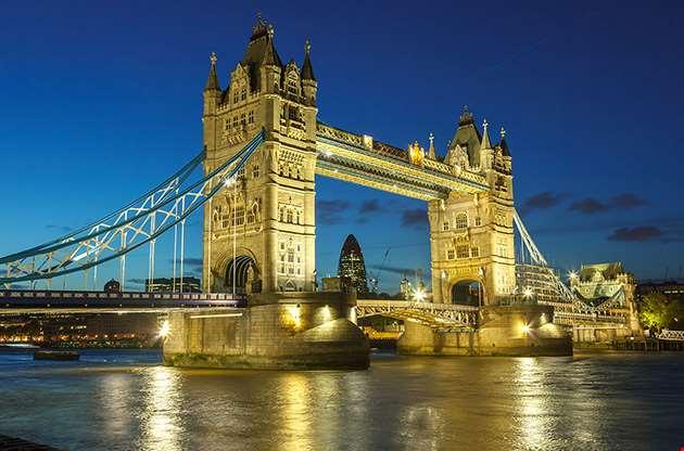 bridge-at-night-london-Bridge At Night London