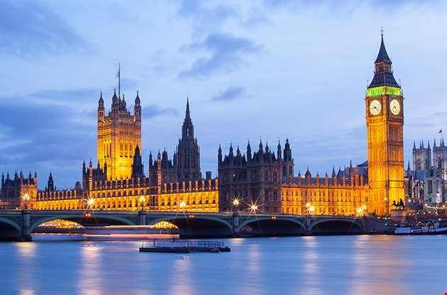 cityscape-of-big-ben-and-westminster-bridge-with-river-thames-Cityscape Of Big Ben And Westminster Bridge With River Thames