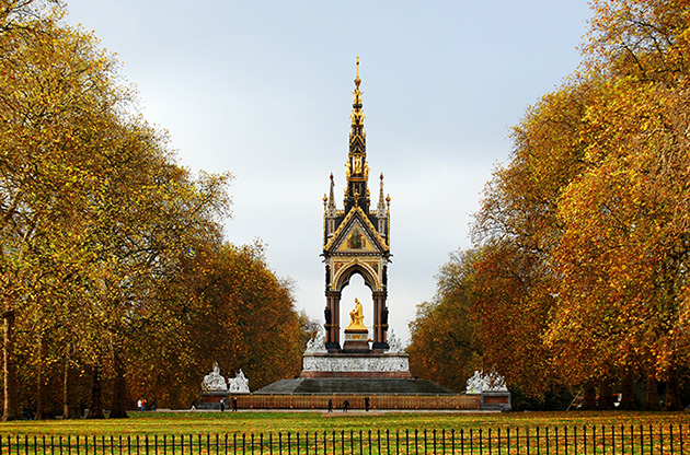the-albert-memorial-london-The Albert Memorial London