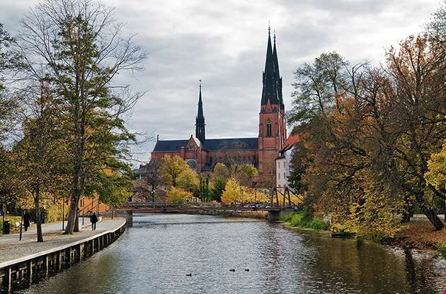 uppsala-cathedral-sweden-Uppsala Cathedral Sweden