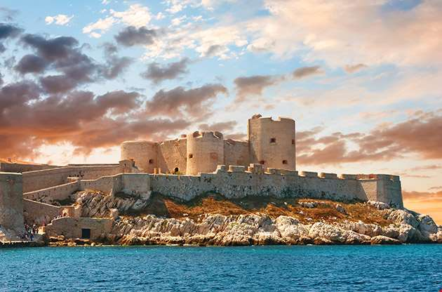 Chateau D If Marseille France-Chateau D If Marseille France