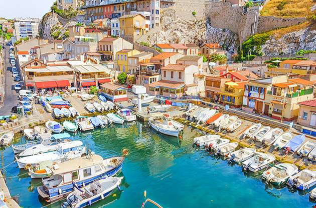 The Vallon Des Auffes Marseilles France-The Vallon Des Auffes Marseilles France