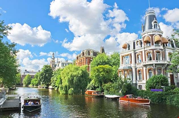 amsterdam canal view-Amsterdam Canal View
