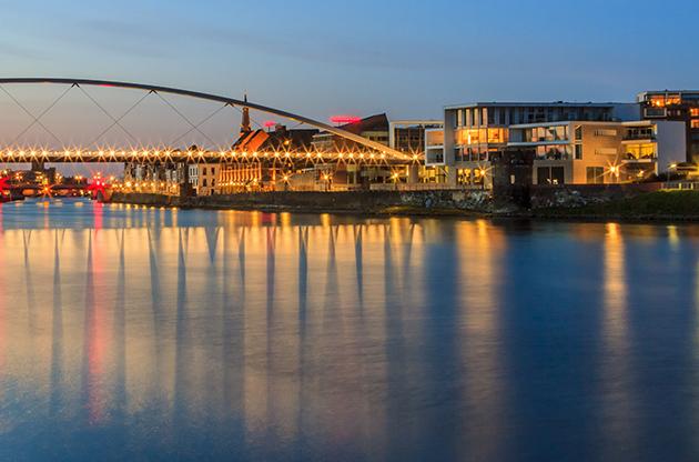 High Bridge At Maastricht Netherlands-High Bridge At Maastricht Netherlands
