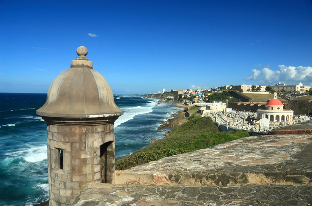el-morro-castillo-san-felipe-del-morro-old-san-juan-puerto-rico-El Morro Castillo San Felipe Del Morro, Old San Juan, Puerto Rico