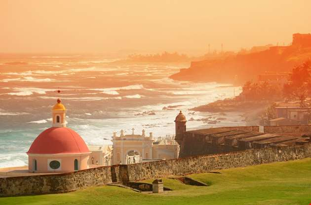 old-san-juan-ocean view-Old San Juan Ocean View