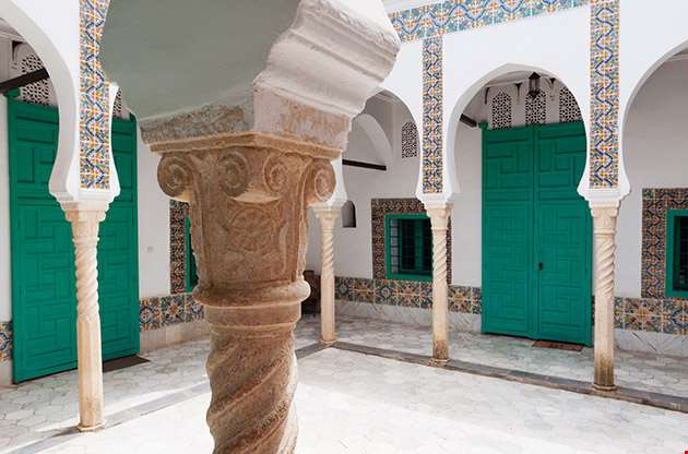 Algeria Algiers Dar Abdel Latif Mauresque Palace-Algeria Algiers Dar Abdel Latif Mauresque Palace