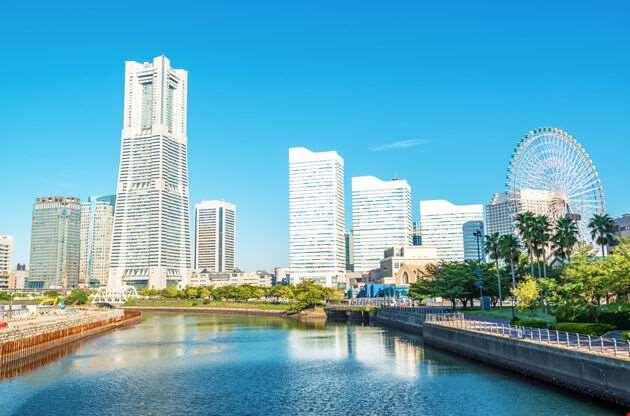 Yokohama Minato Mirai 21 Area-Yokohama Minato Mirai 21 Area